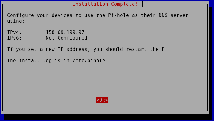 Install your VPN server with pi-hole on OVH VPS in 30 min