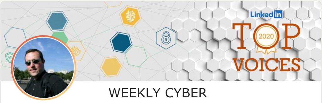 Alexandre Blanc CyberSecurity weekly cyber linkedin